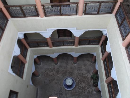 Hotel Cecil Marrakech: Vista terraço