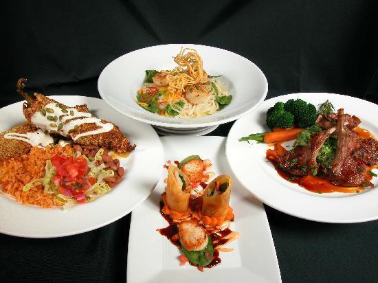 ذا هستوريك تاوز إن: The delicious food served at Doc Martin's Restuarant located inside the Historic Taos Inn