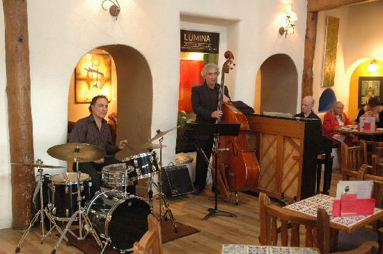 Live music is complimentary every night in the Adobe Bar at The Historic Taos Inn
