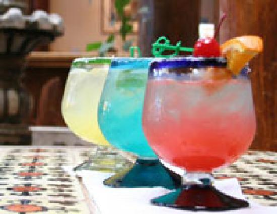 The Historic Taos Inn: Margaritas!