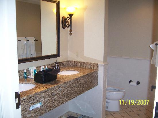 French Lick, IN: large bathrooms