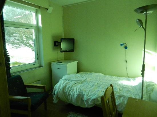 ABC Hotell: habitacion y ventana