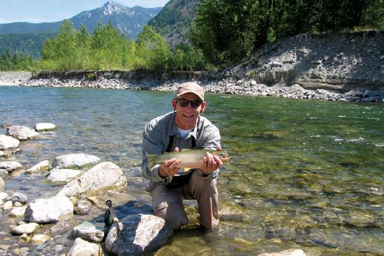 Fly fishing (Courtesy Larry LaRocque / Whitefish CVB)
