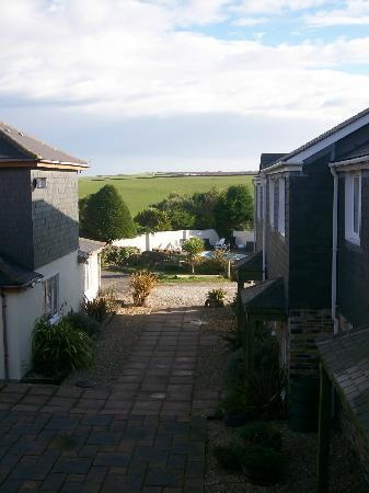 Padstow, UK: View from one of the bedrooms