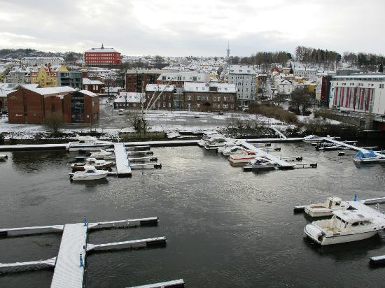 Radisson Blu Royal Garden Hotel, Trondheim: Room with a view - but few of them