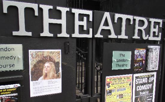 The London Theatre: main entrance