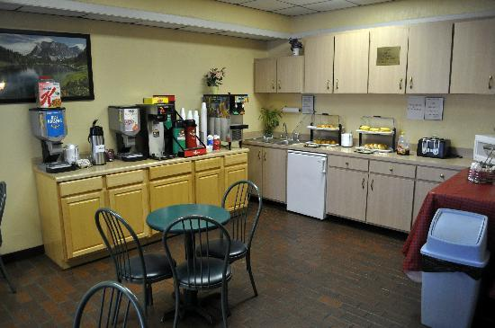 Select Inn Murfreesboro: Breakfast Area