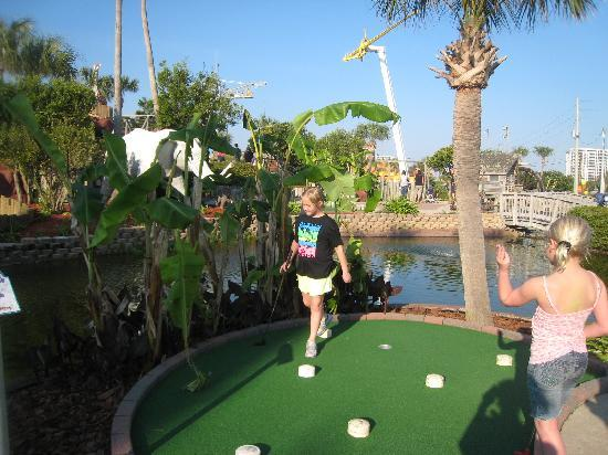 The Track: Most fun ever playing mini golf.