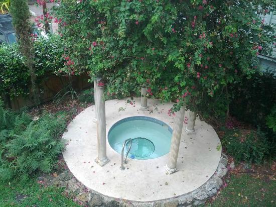 Larelle House Bed & Breakfast: Jaccuzzi and cover, super romantic