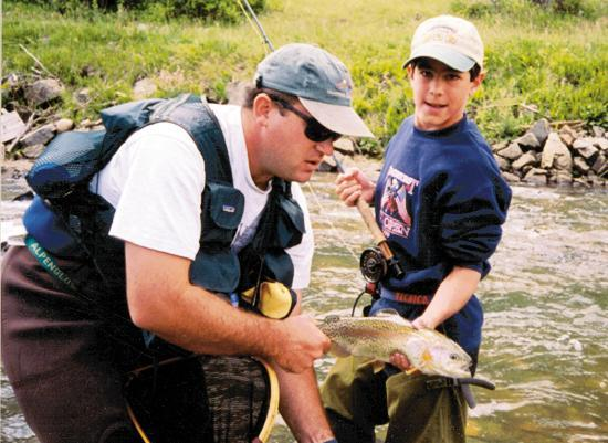 Tumbling River Ranch: Don't forget your rod!