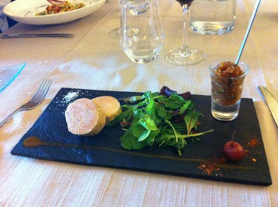 Les Boissieres: l'incontestable foie gras mi-cuit, juste délicieux