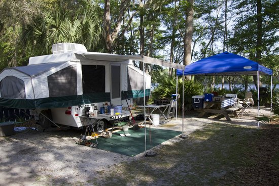 Yellow Jacket RV Resort: RiverSide Site