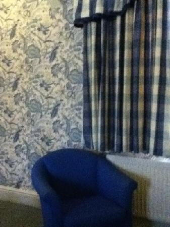 Castle Hotel: beautiful wallpaper