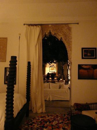 Dar Kawa Riad : Suite zum Innenhof/ Erdgeschoss