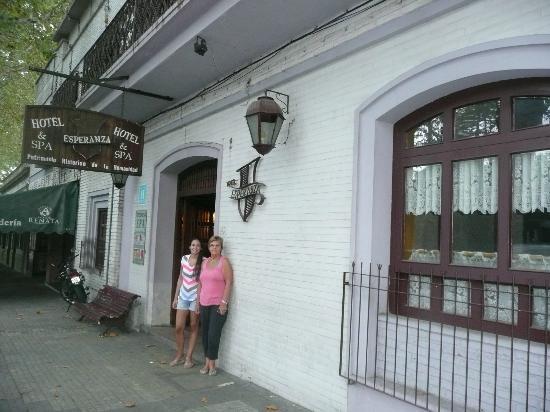 Hotel Esperanza & Artemisa Spa: frente