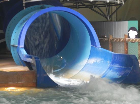 Kalahari Resorts & Conventions: big slides