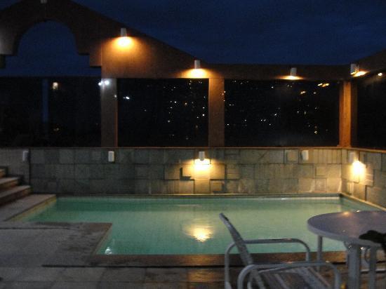 South American Copacabana Hotel: roof-top pool