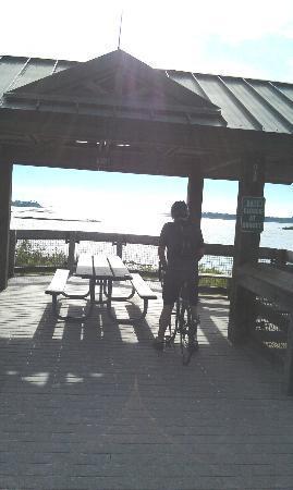 Felburn Park Trailhead: End of trail.