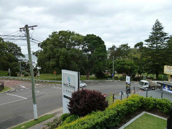 The Nelson Resort: View towards the marina