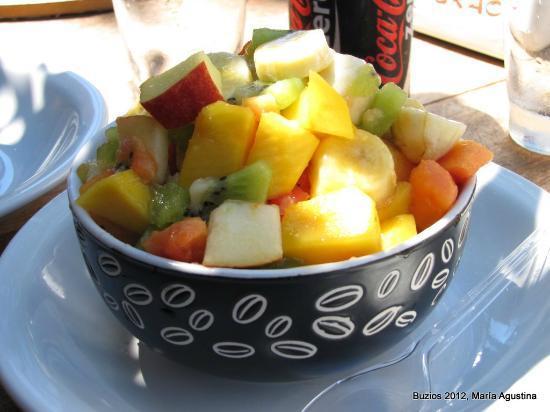 Sukao Bar : ensalada de frutas Sukao...Impresionanteee!!!!!!!!!!!!