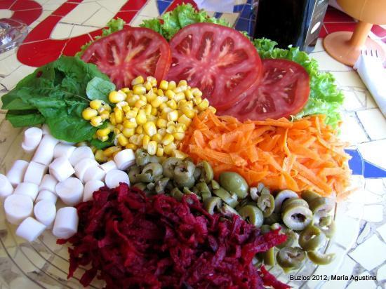 Sukao Bar : Ensalada Sukao!!!!!No se la pierdan.También con pollo ,pescado,carne