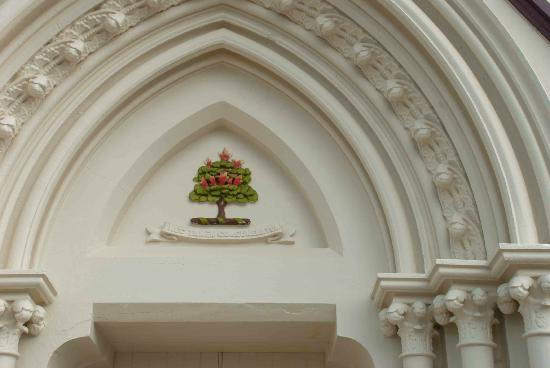 St Pauls Presbyterian Church: Archway detail