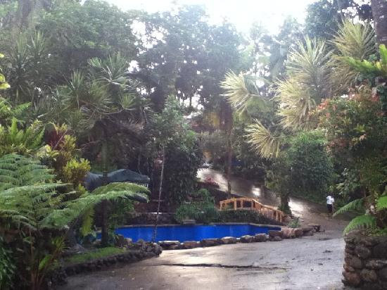 Lucban, Filippinene: one of the pools