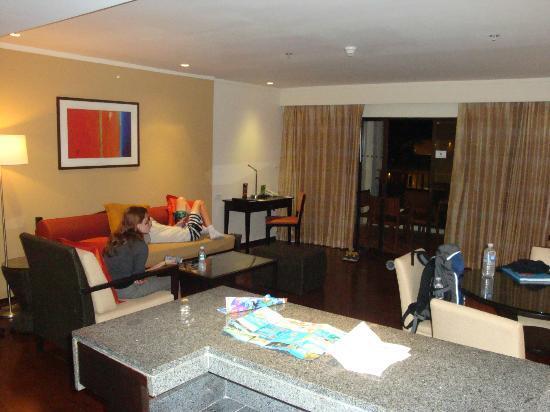 Swissotel Resort Phuket Kamala Beach : Living Area