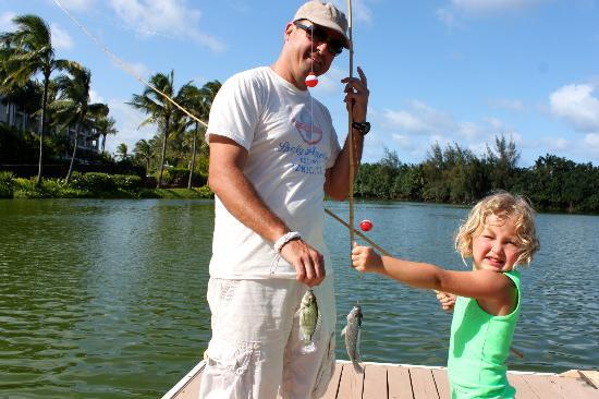 Marriott's Kauai Lagoons - Kalanipu'u: Fishing with Dad