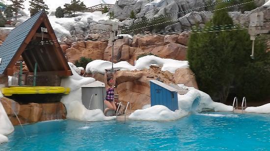 Disney S Blizzard Beach Water Park Zip Line Fun