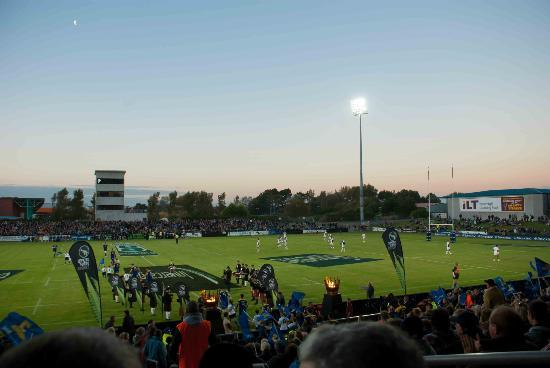 Rugby Park Stadium: Evening in Invercargill