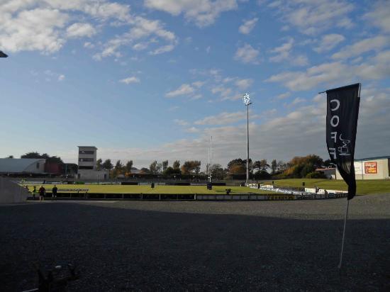 Rugby Park Stadium: Across Rugby Park Stadium