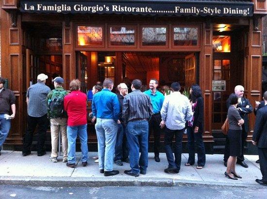 La Famiglia Giorgio's: Street View