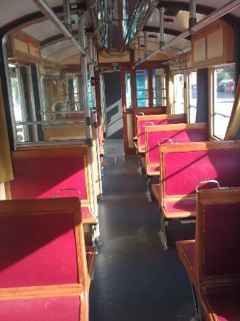 Opicina Tramway: Inside the tram