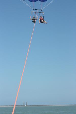 Cocoa Beach Parasail: 800 feet in the air