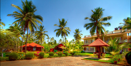 Asokam Beach Resort: Resort view