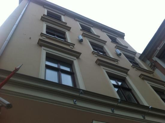 Hotel Justus: Justus. Facade.