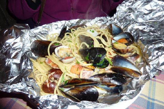 Casetta di Trastevere: Spaghetti al cartuccio
