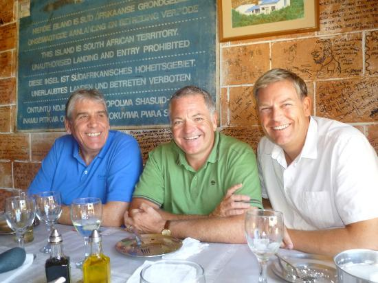 Hook, Line and Sinker: Happy diners