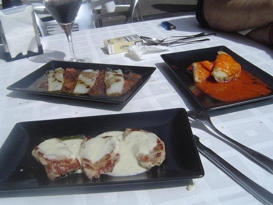 El Hidalgo Restaurante: Las tapas elboradas riquísimas