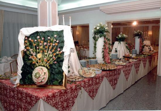Hotel Mediterraneo : Buffet