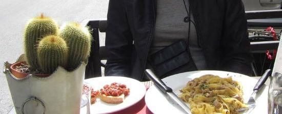 Il Desco Bistro : Gluten free pasta with white meat ragout