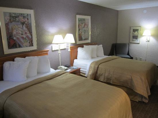 Quality Inn & Suites : Blick in unser Zimmer