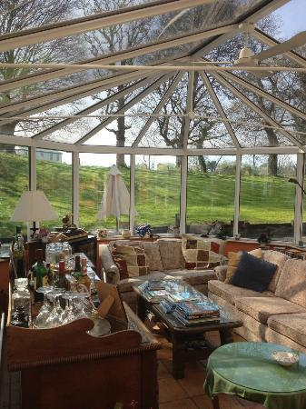 Gleann Fia Country House: Conservatory
