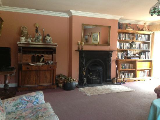 Gleann Fia Country House: Reading room