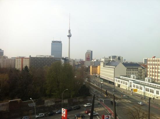 Ibis Berlin Mitte: udsigt fra ibis hotellet