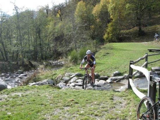 Hotel Villa del Sole: Bike im Malcantone