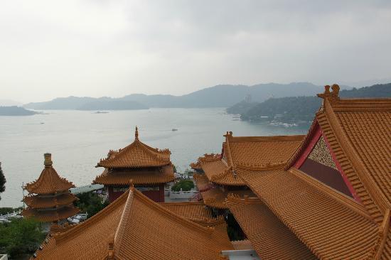 Fleur de Chine Hotel Sun Moon Lake: Wen-Wu tempel