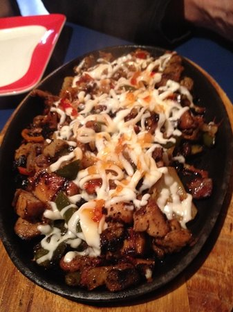 Si Senor: best chicken fajitas!!