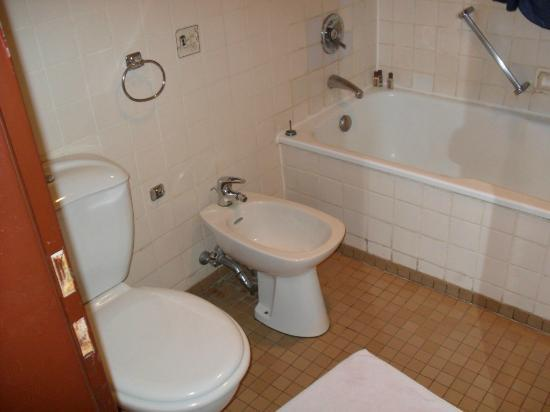 Sheraton Abuja Hotel: Old bathroom